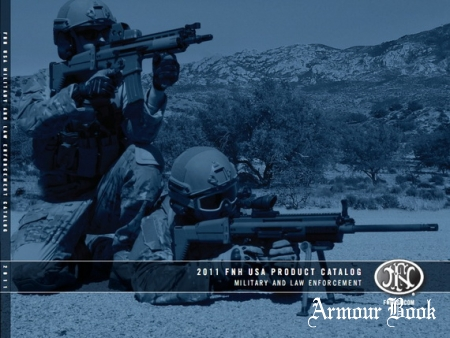 2011 FNH USA Product catalog military and law enforcement
