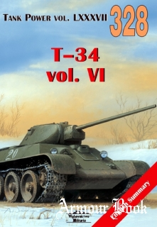 T-34 vol.VI [Wydawnictwo Militaria 328]