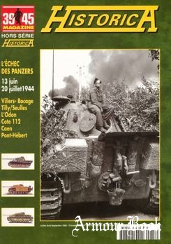 L'eches des Panzers [39/45 Magazine Hors Serie Historica №60]