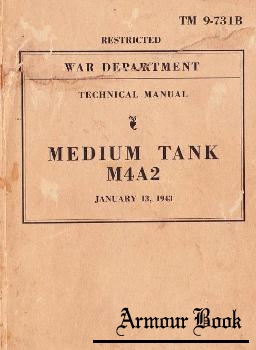 Technical Manual, Medium Tank M4A2