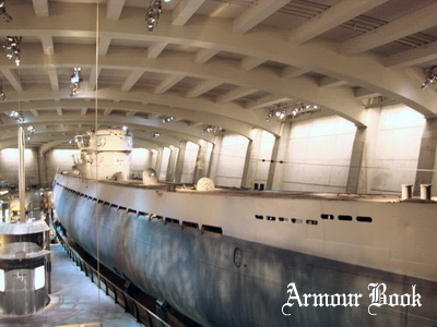 U-505 Type IXc U-Boat [Walk Around]