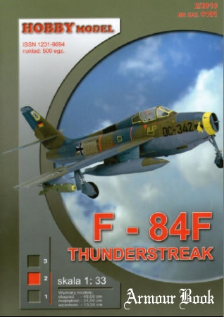 F-84F Thunderstreak [Hobby Model 101]