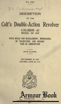 Description of the Colt's Double-Action Revolver.