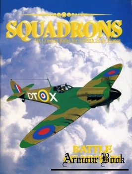 Squadrons. Air combat rules for 1/300th scale planes: Battle of Britain [Beacon Publications]