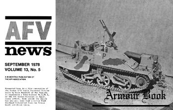 AFV News Vol.13 No.05 (1978-09)