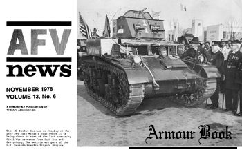 AFV News Vol.13 No.06 (1978-11)