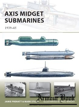 Axis Midget Submarines 1939-1945 [Osprey New Vanguard 212]
