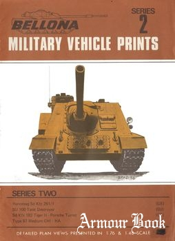 SU 100 Tank Destroyer [Bellona Military Vehicle Prints 02]