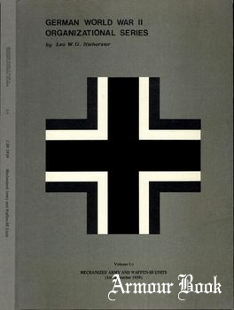 Mechanized Army and Waffen-SS Units (1st September 1939) [German World War II Organizational Series Vol.1/I]