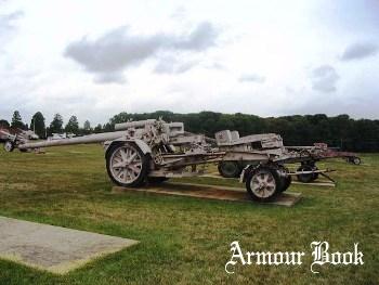German 15cm Kanone 18 in Morserlafette [Walk Around]