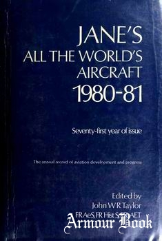 Jane's All the World's Aircraft 1980-1981 [Janes Information Group]