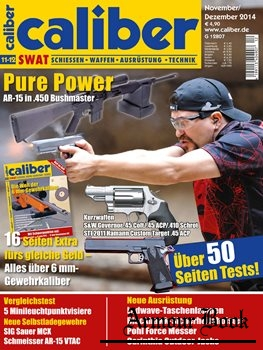 Caliber SWAT Magazin 2014-11/12