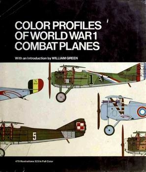 Color Profiles of World War 1 Combat Planes [Crescent Books]