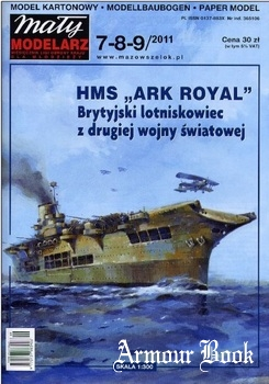 "HMS ""Ark Royal"" [Maly Modelarz 2011-07/08/09]"