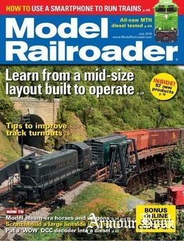 Model Railroader 2015-07