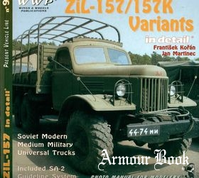ZiL-157/157K Variants in detail [WWP Green Present Vehicle Line №09]