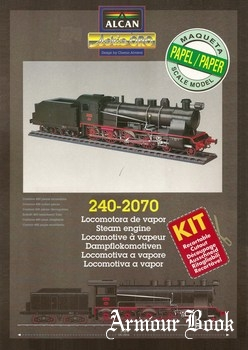 Steam Locomotive 240-2070 [Alcan]
