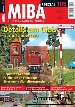 MIBA Die Eisenbahn im Modell Spezial №105