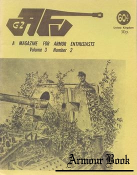 AFV-G2: A Magazine For Armor Enthusiasts Vol.3 No.02 (1971-10)