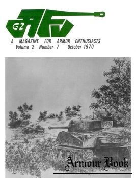 AFV-G2: A Magazine For Armor Enthusiasts Vol.2 No.07 (1970-10)