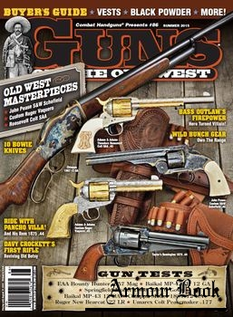 Guns of the Old West 2015-Summer