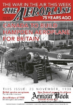 Canada to Build Hampden Aeroplane for Britain [The Aeroplane 75 Years Ago]