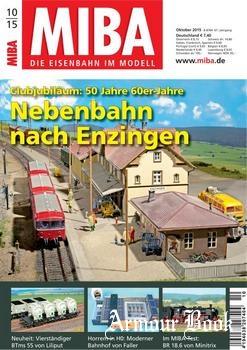 MIBA Die Eisenbahn im Modell 2015-10