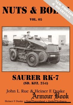 Saurer RK-7 (Sd.Kfz. 254) [Nuts & Bolts 05]