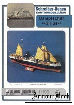 Dampfschiff Sirius [Schreiber-Bogen]