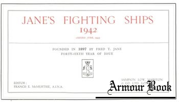 Jane's Fighting Ships 1942 [Sampson Low Marston]
