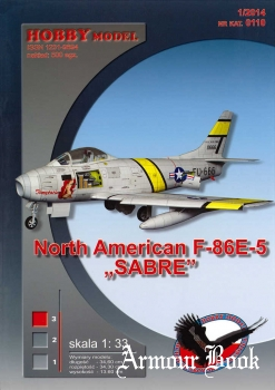 North American F-86E-5 Sabre [Hobby Model 110]