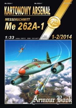 Messerschmitt Me-262A-1 [Halinski Kartonowy Arsenal 2014-01/02 ]