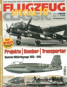 Projekte, Bomber, Transporter [Flugzeug Classic Special 10]
