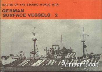 German Surface Vessels 2 [Navies of the Second World War]