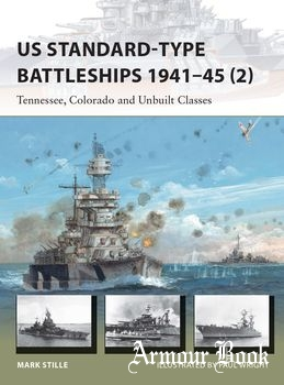 US Standard-type Battleships 1941-1945 (2) [Osprey New Vanguard 229]