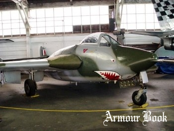 de Haviland D.H.100 Vampire Mk.IV [Walk Around]