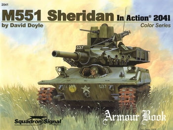 M551 Sheridan in Action [Squadron Signal 2041]