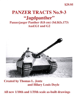 """Jagdpanther"" [Panzer Tracts No.9-3]"