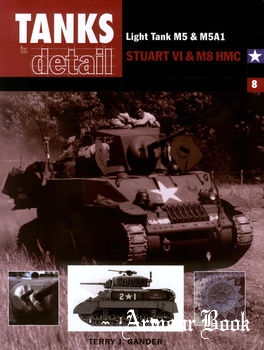 Light Tank M5 & M5A1, Stuart VI & M8 HMC [Tanks in detail №8]