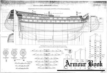 Чертежи парусного корабля San Fernando (1727)