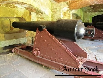 "US 6.4"" (100pdr) Parrott Rifle on the Casemate Carriage [Walk Around]"