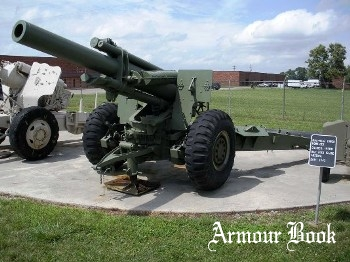 US 155mm M1A1 Howitzer on the M6A2 Mount [Walk Around]
