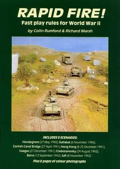 Rapid Fire! Fast Play World War 2 Wargame Rules [Stratagem Publications]