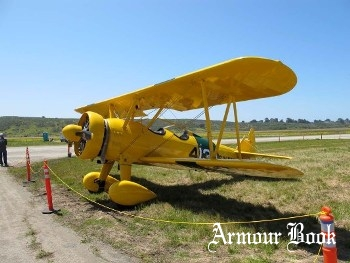 Boeing A75N1(PT17) Stearman [Walk Around]