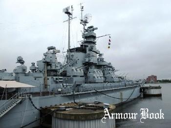 USS Massachusetts BB-59 [Walk Around]