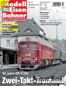 Modelleisenbahner 2016-11
