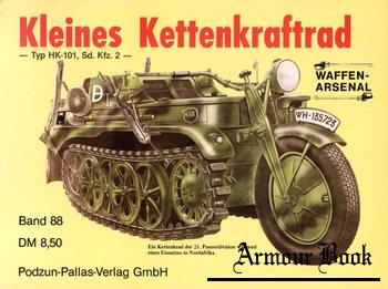 Kleines Kettenkraftrad: Typ HK-101, Sd. Kfz. 2 [Waffen-Arsenal 088])