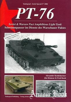 PT-76 Soviet and Warsaw Pact Amphibious Light Tank [Tankograd Soviet Special 2006]