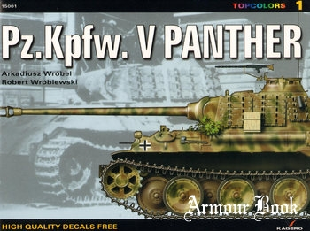 Pz.Kpfw.V. Panther [Kagero Topcolors 15001]