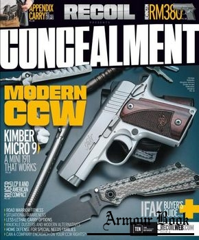 Recoil presents - Concealment - Issue 4 2016